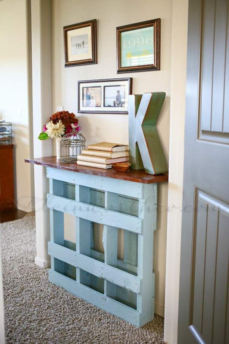 fabriquer des meubles avec des palettes en 33 id es originales palettes decorar con palets. Black Bedroom Furniture Sets. Home Design Ideas