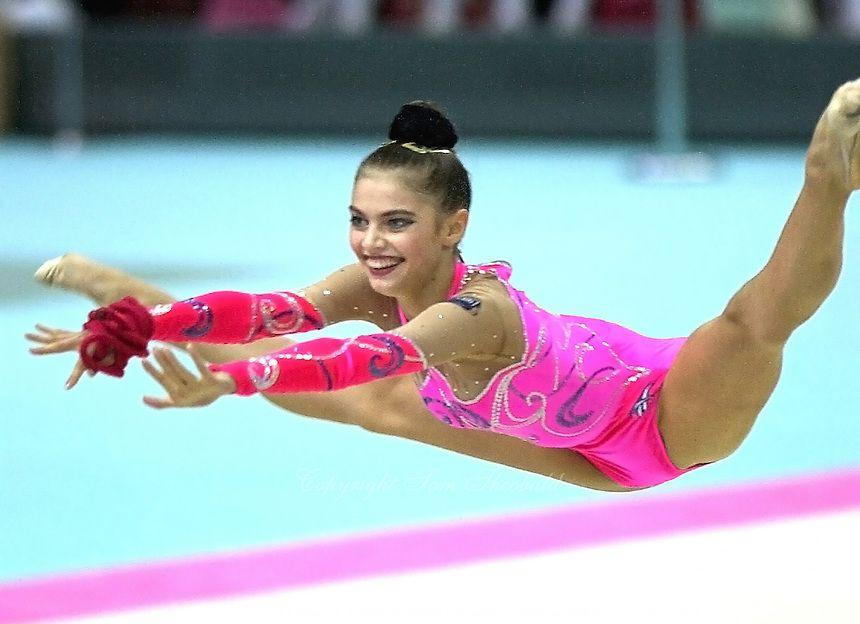 Alina Kabaeva (Russia), World Championships (Osaka, Japan ...