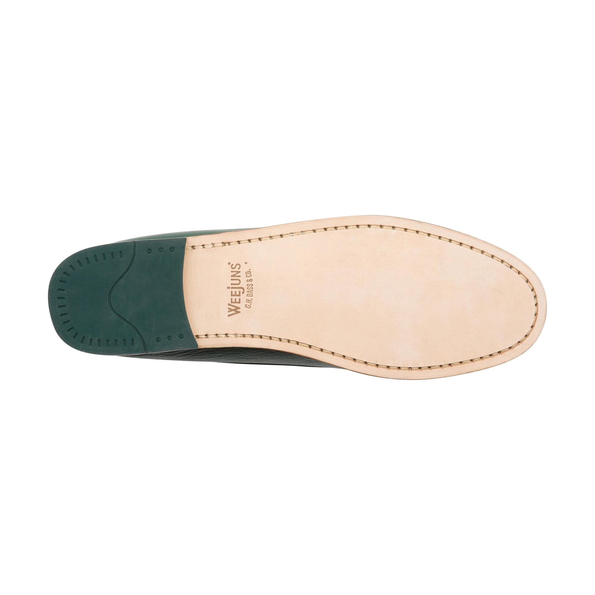 6e5d2d9c077 G.h. Bass   Co. Whitney Natural Sole Weejuns - Aquarius Green 8.5