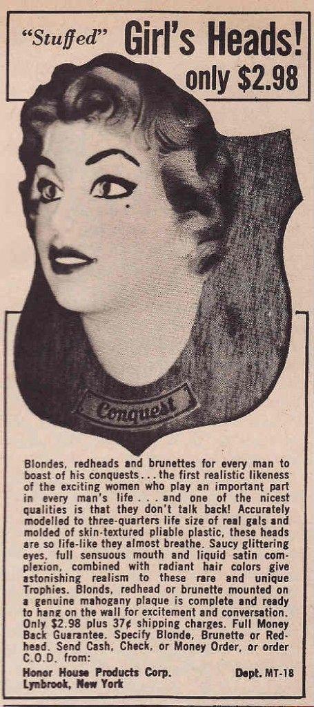stuffed girl's heads