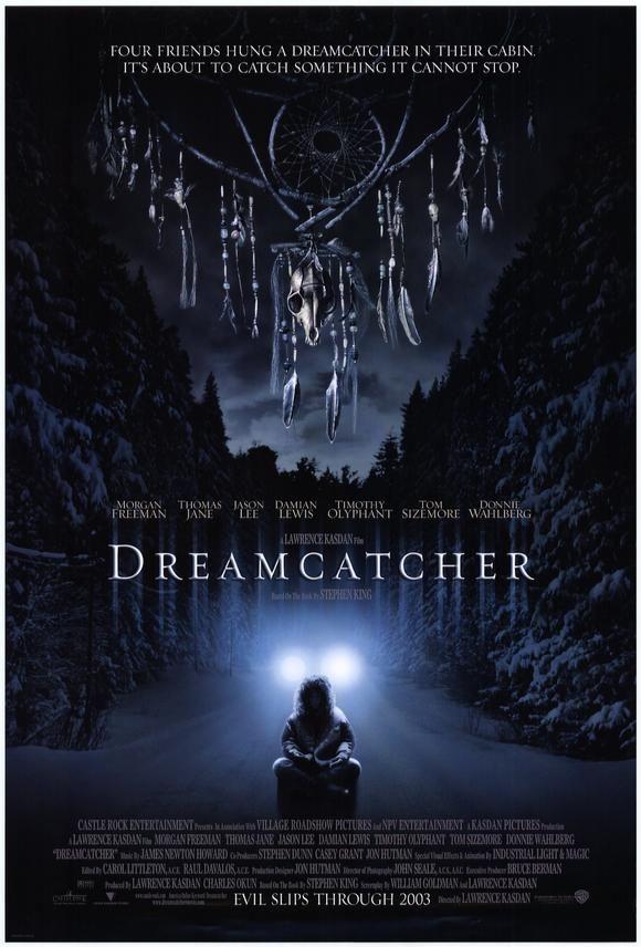 Dream Catcher The Movie Captivating Dreamcatcher Movie Posterjm Stephen King  The Master Of Horror 2018