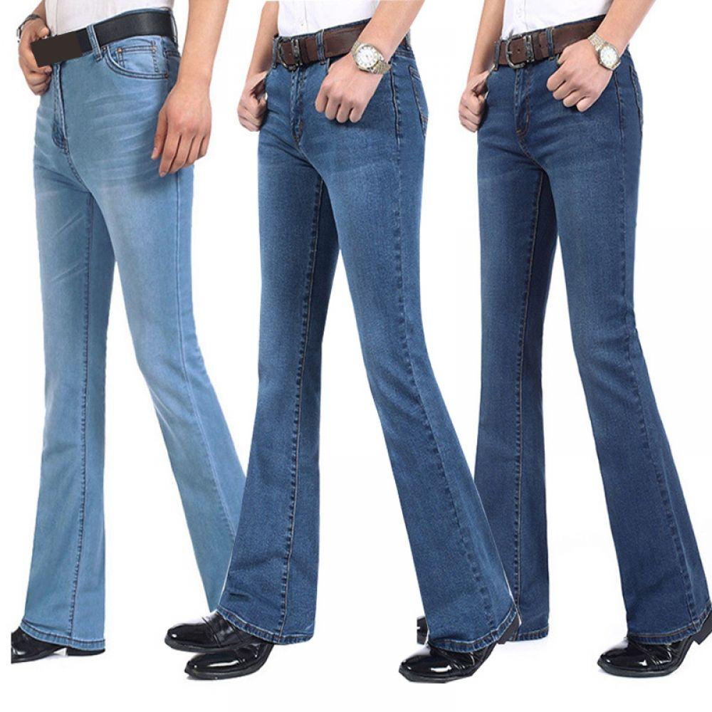 Nanquan-men clothes NQ Mens Slim Fit Stretch Washed Ripped Distressed Jean Denim Shorts