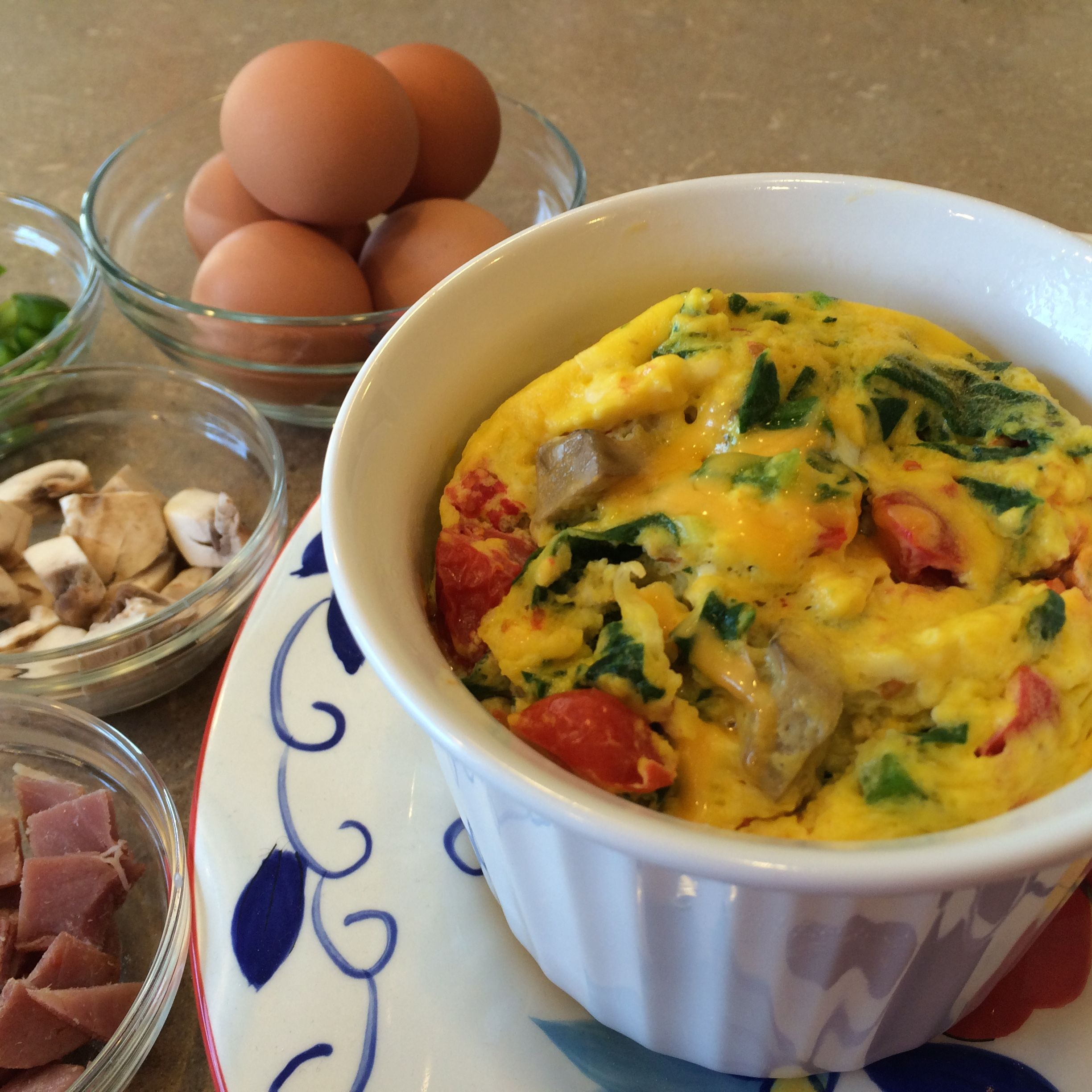 Microwave Mug Scramble Packed With Protein This Quick And Easy Breakfast Recipe Can Be