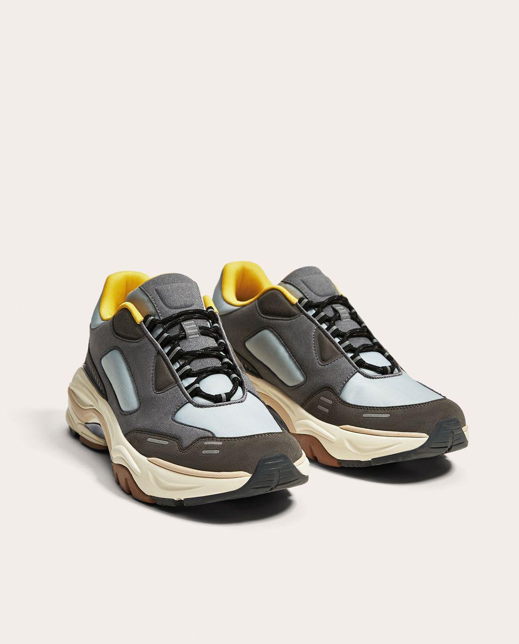 chaussures multisport Homme Casual Cuirwearproof pour hommes gris taille10 SjPiKCoM