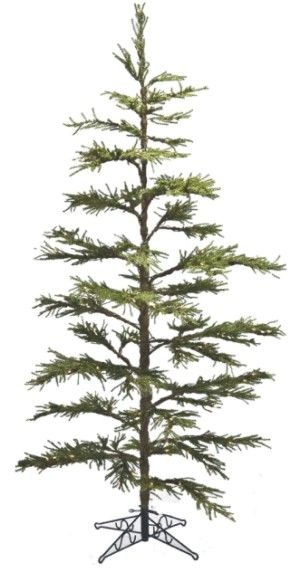 Prelit Tree Artificial Christmas 7ft x 57in Pistol Pine Pre Lit ...