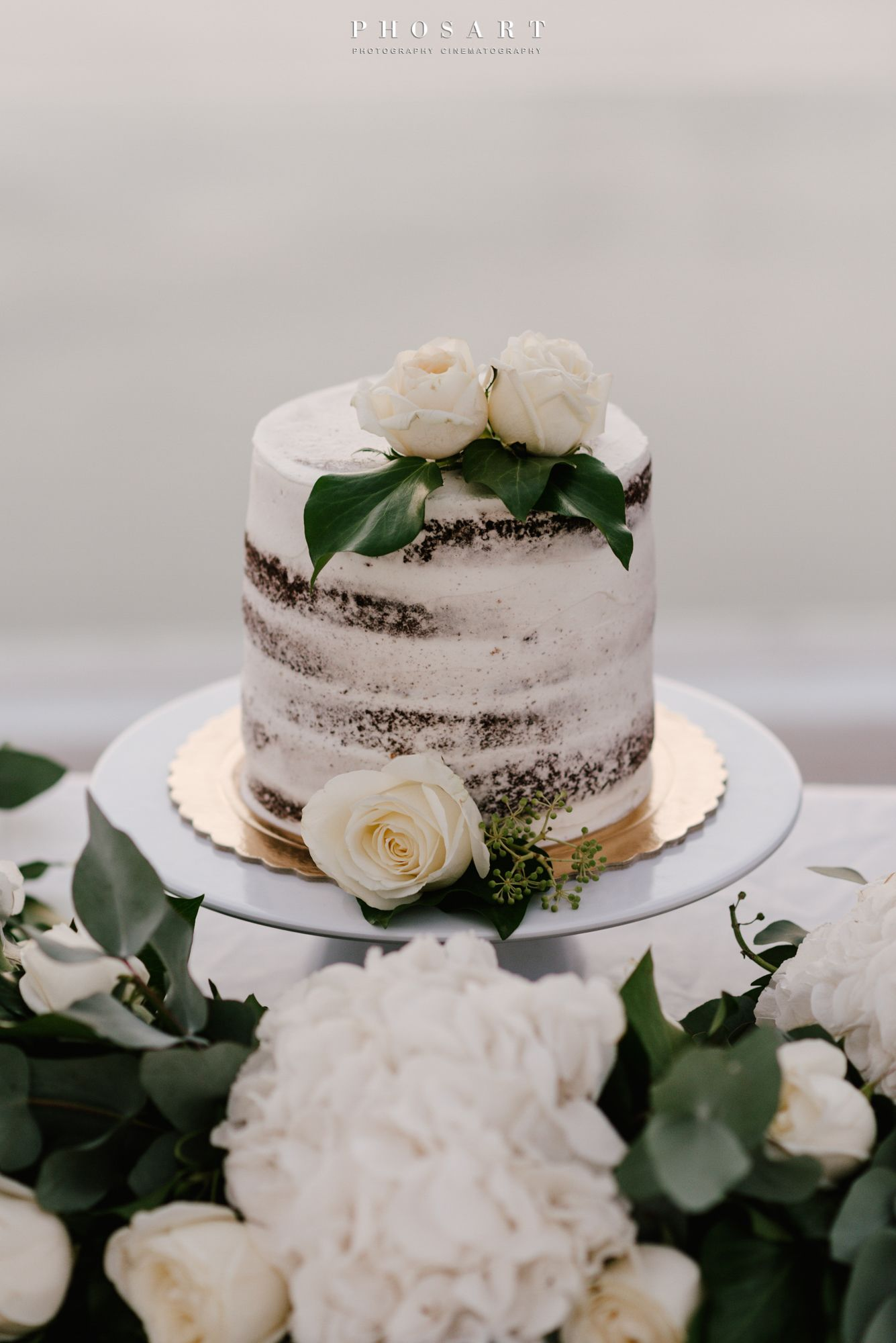 Wedding Cake Elopement Wedding Day Santorini Greece Blue
