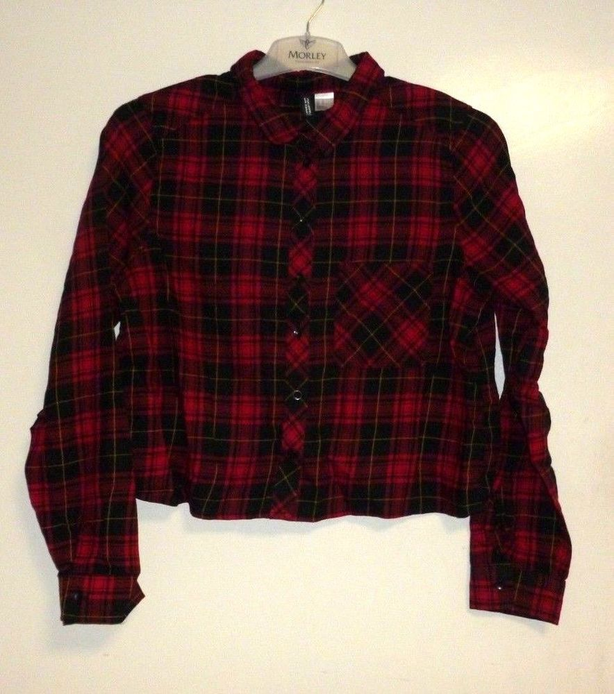 red checked shirt womens uk