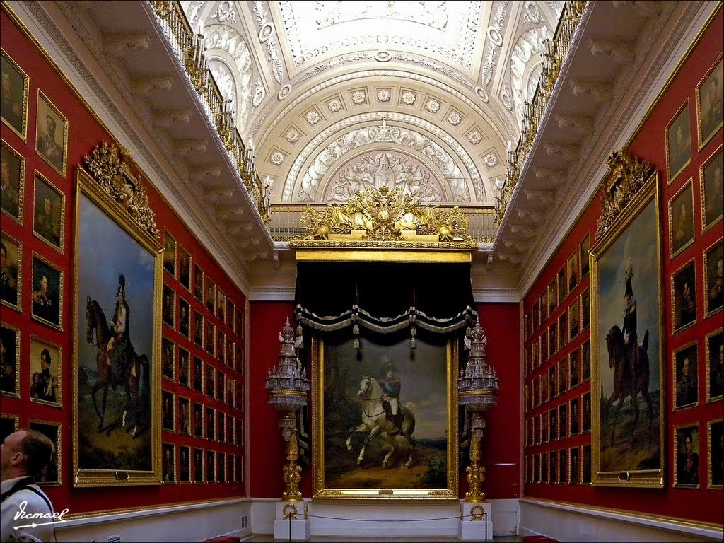 State Hermitage Museum - Saint Petersburg, Russia / The War Gallery in the Winter Palace: Portraits of the 1812 War