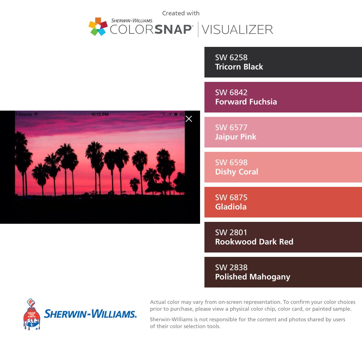 I found these colors with colorsnap visualizer for iphone by i found these colors with colorsnap visualizer for iphone by sherwin williams tricorn nvjuhfo Images