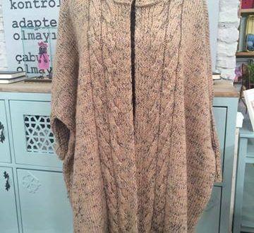 Kapsonlu Orgu Bayan Hirka Orgu Modelleri Sweater Dress Fashion Coat