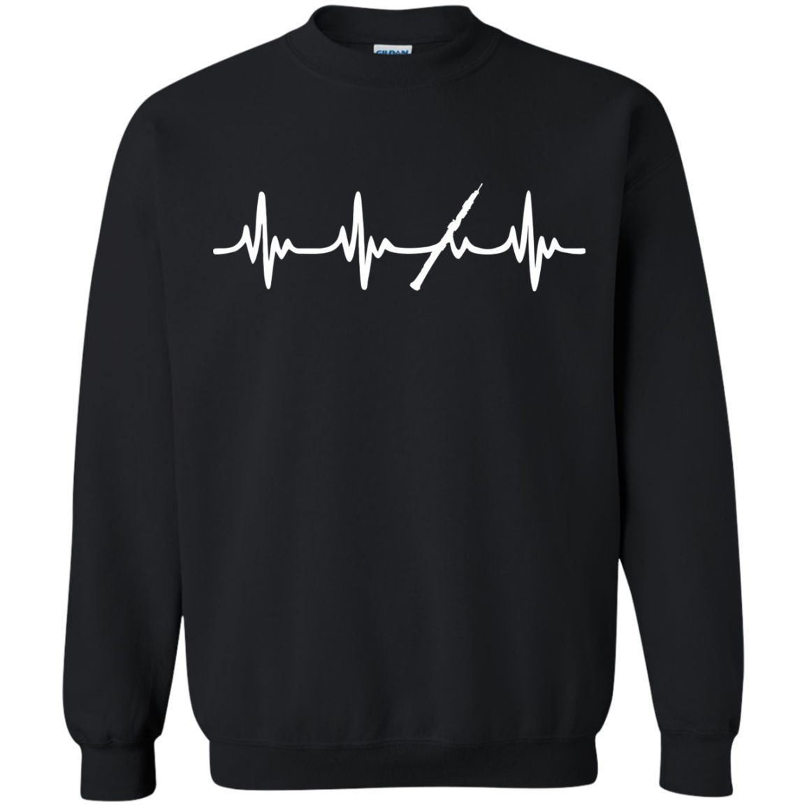 Oboe Heartbeat Long Sleeve/Sweatshirt