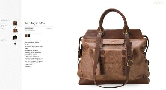 http://www.noonstyle.com Bags e-commerce.