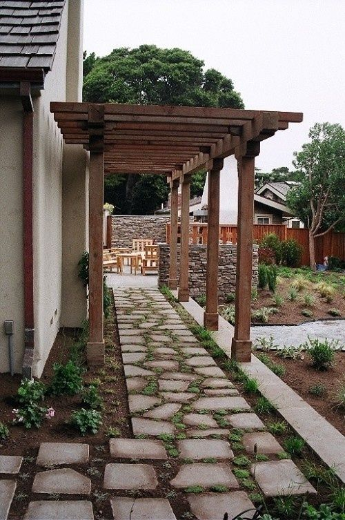 Side Of The House Walkway Ideas   Walkway By The Side Of The House?