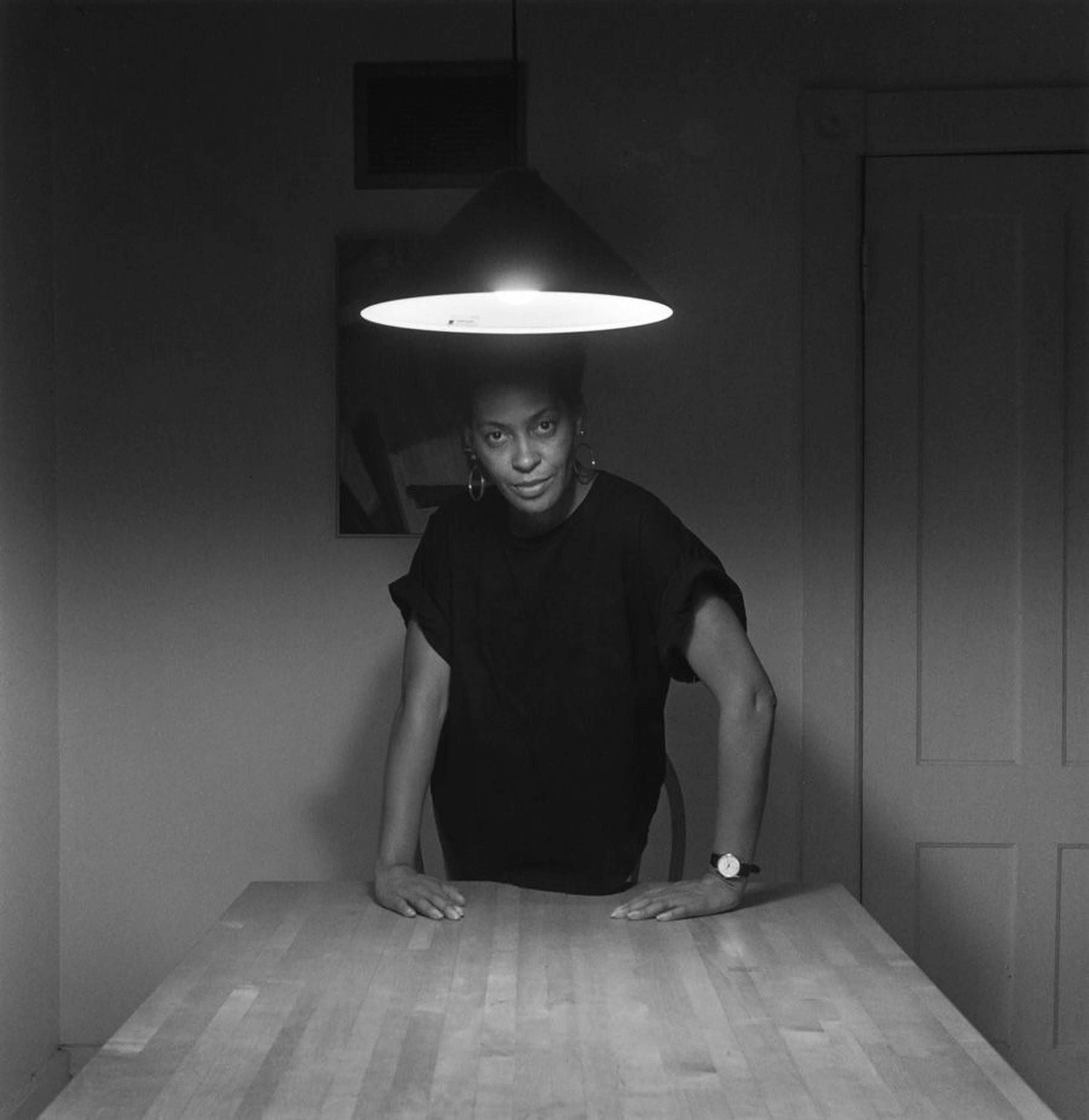 Carrie Mae Weems Self Portrait The Kitchen Table Series Artist