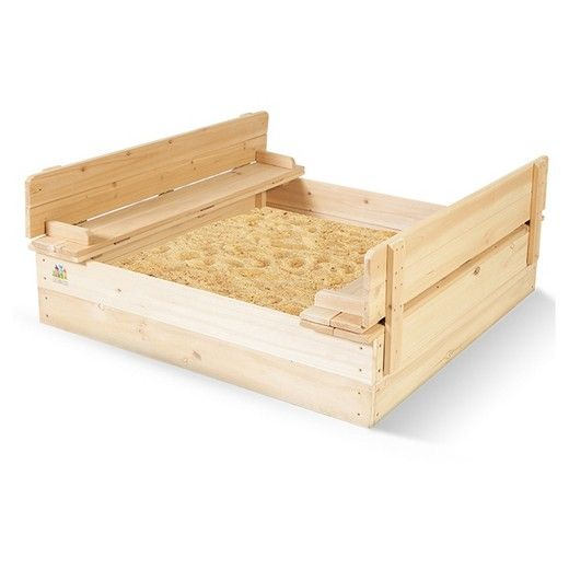 Outward Play Strongbox Square Sandpit Plays and Squares