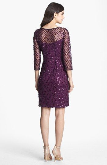 Pisarro Nights Beaded Short Dress | Nordstrom