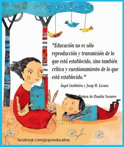 Frases Para La Educacion En La Escuela La Familia El Deporte Y La Vida Frases De Educacion Educacion Educacion Parvularia