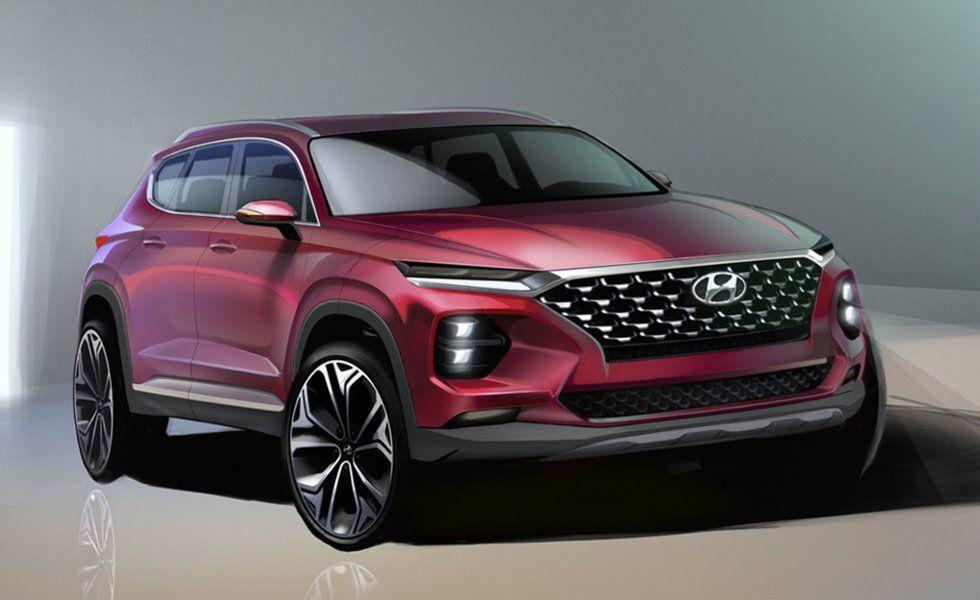Hyundai Santafe Tm 차 자동차 진화