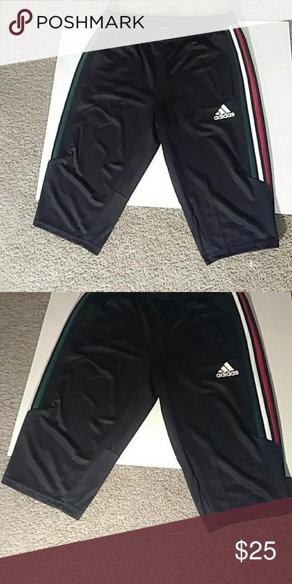 9c71aeb4d657 Men s Adidas three quarter track pants Men s Adidas 3 4 track pants adidas  Pants Sweatpants   Joggers