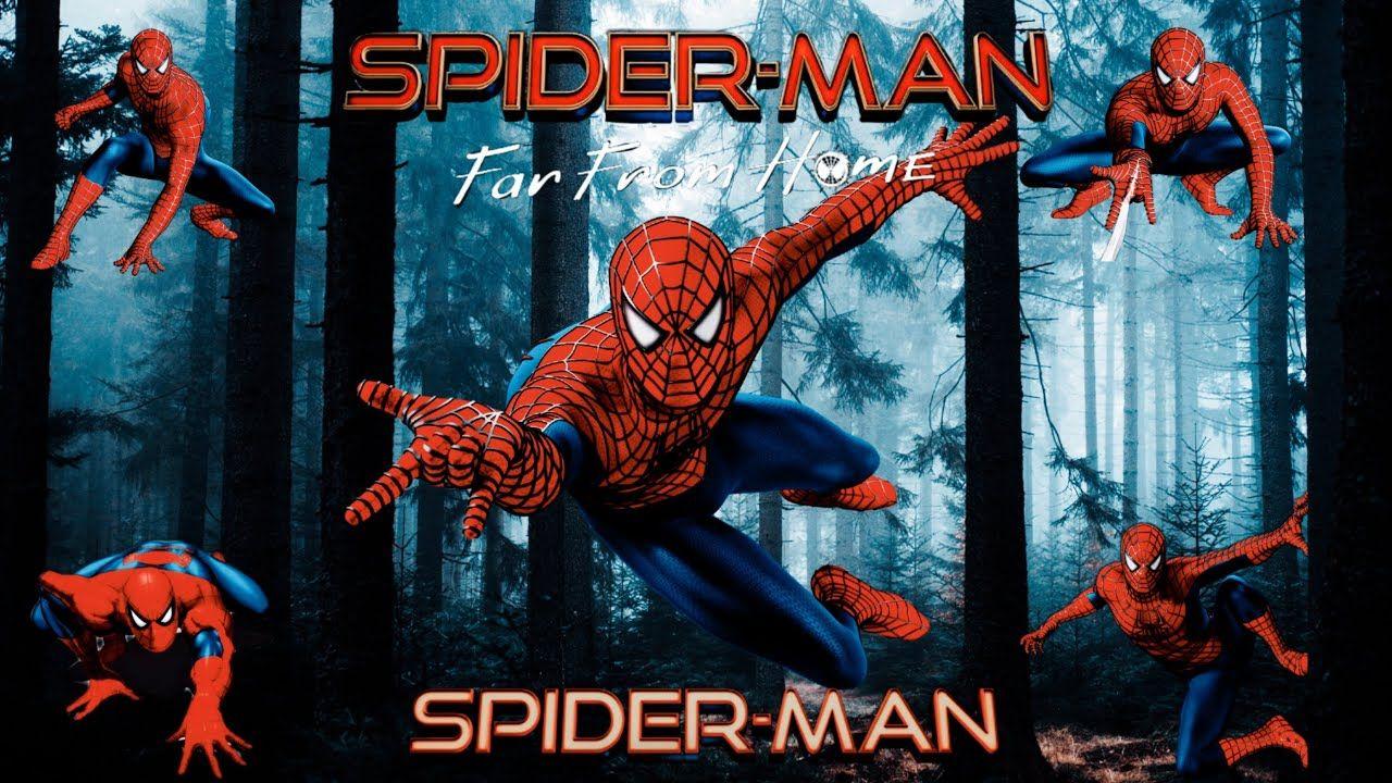 لعبة سبايدر مان بلاي ستيشن Spider Man Game Ps 1080p Ultimate Spiderman Spiderman Poster
