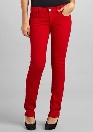 I want a red jean so bad! Im afraid I can't pull it off