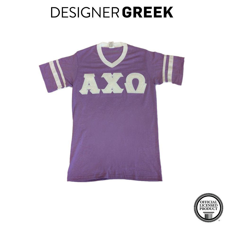 Sorority Rush Shirts Stripe Sleeve Jersey Custom Greek Apparel