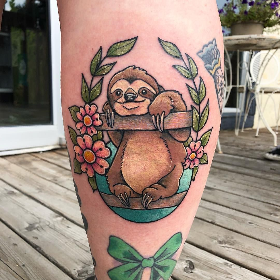 Finally gave this Sloth a home! Thank you youngdaphnee