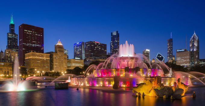 "Photo ""BuckinghamFountain,Chicago"" by ratulmaiti"