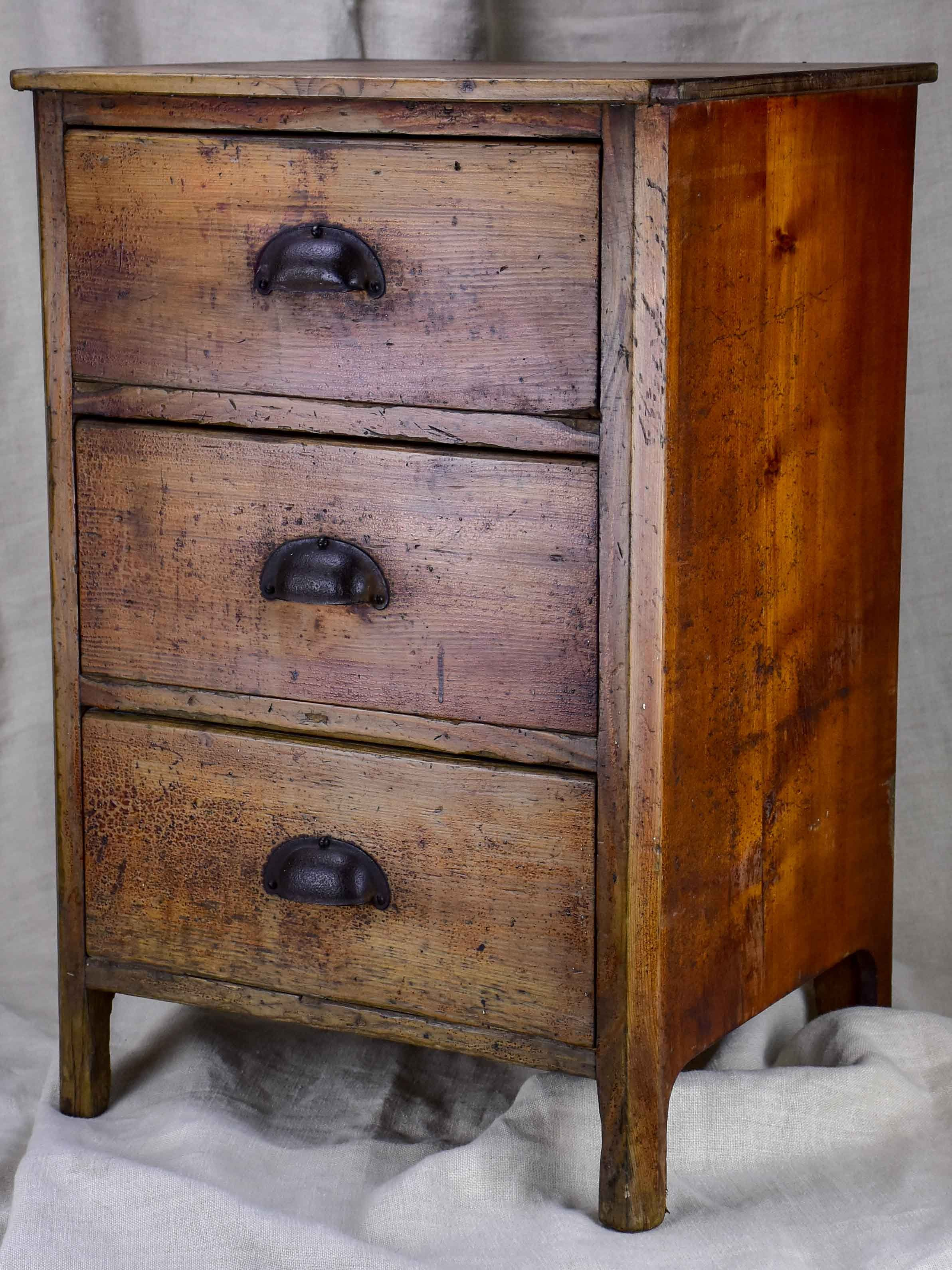 Rustic Antique French Nightstand French Antiques Rustic