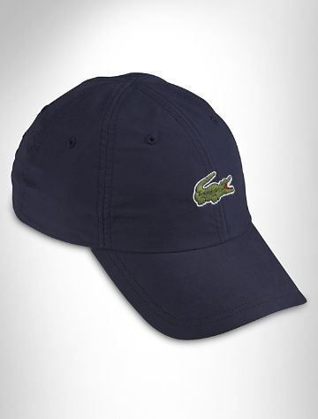 298c571b Lacoste® Baseball Cap A signature topper with a classic croc appliqué and  adjustable back. Cotton. One size. Item # R6704