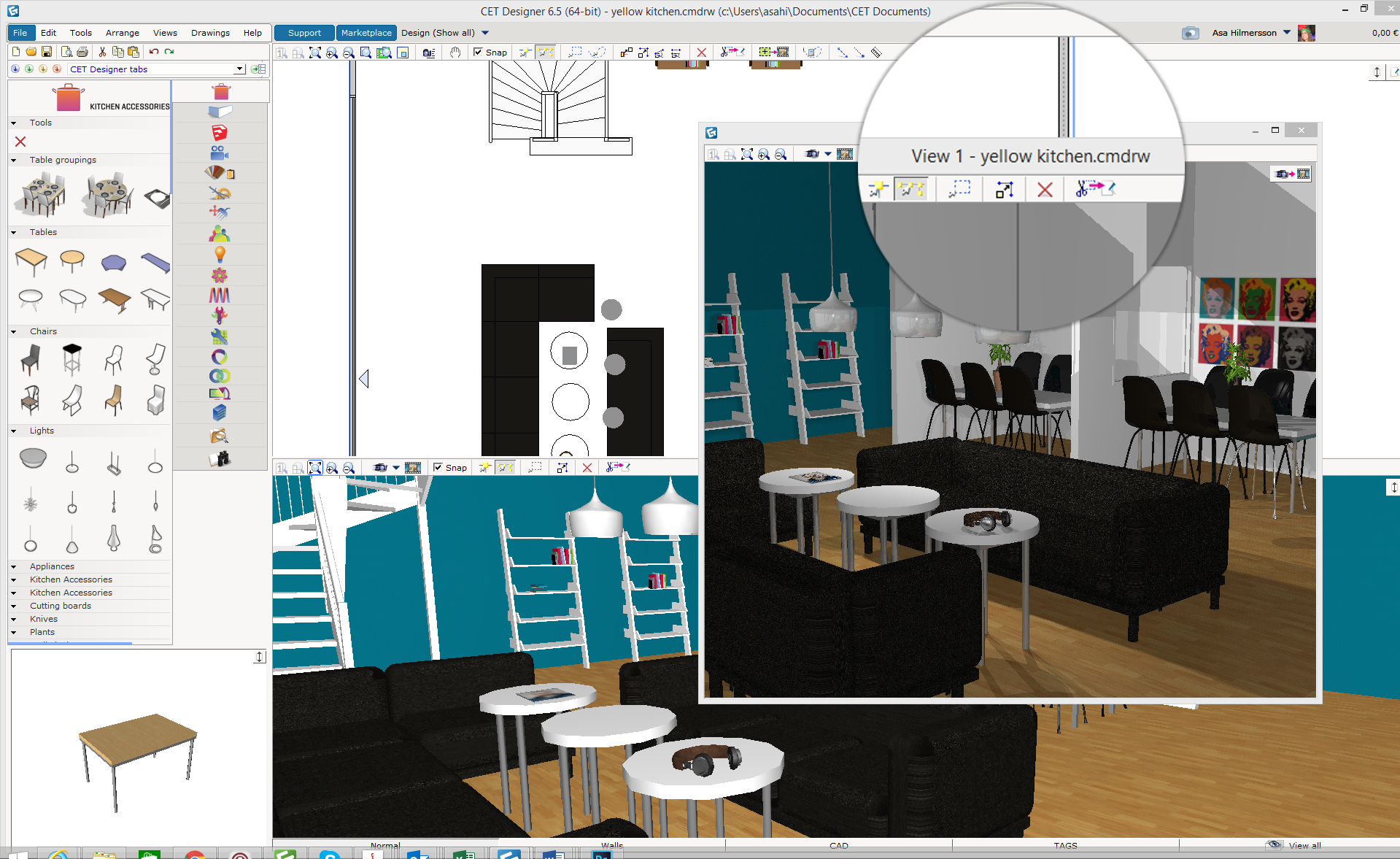 TipTuesday - Get an additional view of either your 2D or 3D by ...