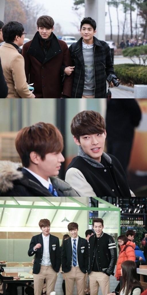 "Minho,WooBin,HyungSik,Minhyuk ♡ #Kdrama - ""HEIRS"" / ""THE INHERITORS"" // Behind The Scene Ep.18"