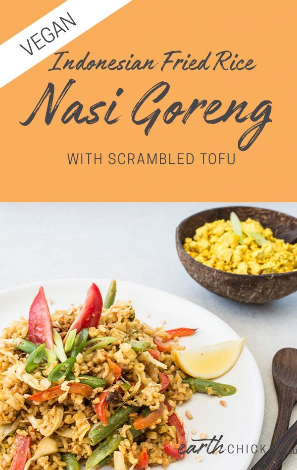 Nasi Goreng With Scrambled Tofu