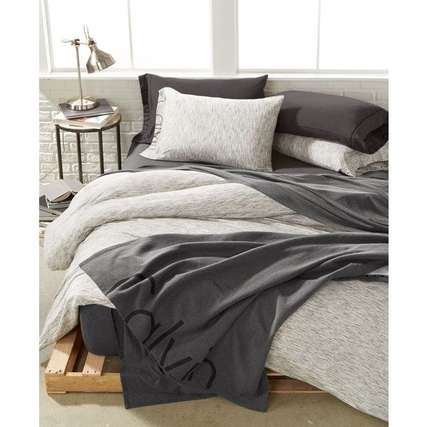 Calvin Klein Modern Cotton Strata King Duvet Cover ($180) ❤ liked on Polyvore featuring home, bed & bath, bedding, duvet covers, marble, calvin klein, calvin klein bed linen, cotton bed linen, calvin klein bedding and cotton bedding