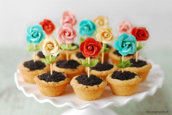 Pinterest & Easy Mothers Day Flower Pot Cookies GREAT IDEA! Yield: 24 ...