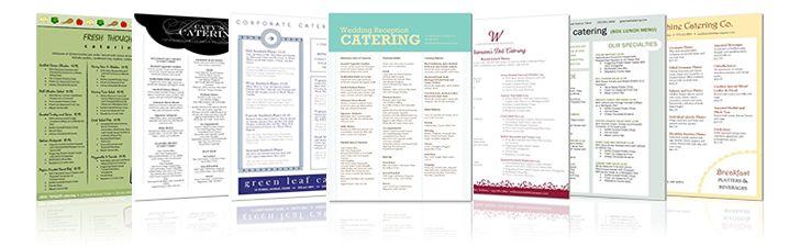 Doc585439 Free Catering Menu Template 16 Banquet Menu – Sample Catering Menu Templates
