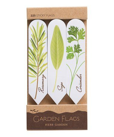 Loving This Herb Garden Stakes Sticky Page Flag Book   Set Of Two On #zulily