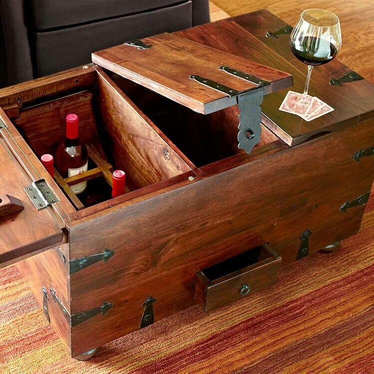 Pier One Wine storage, Storage trunk, Home accessories