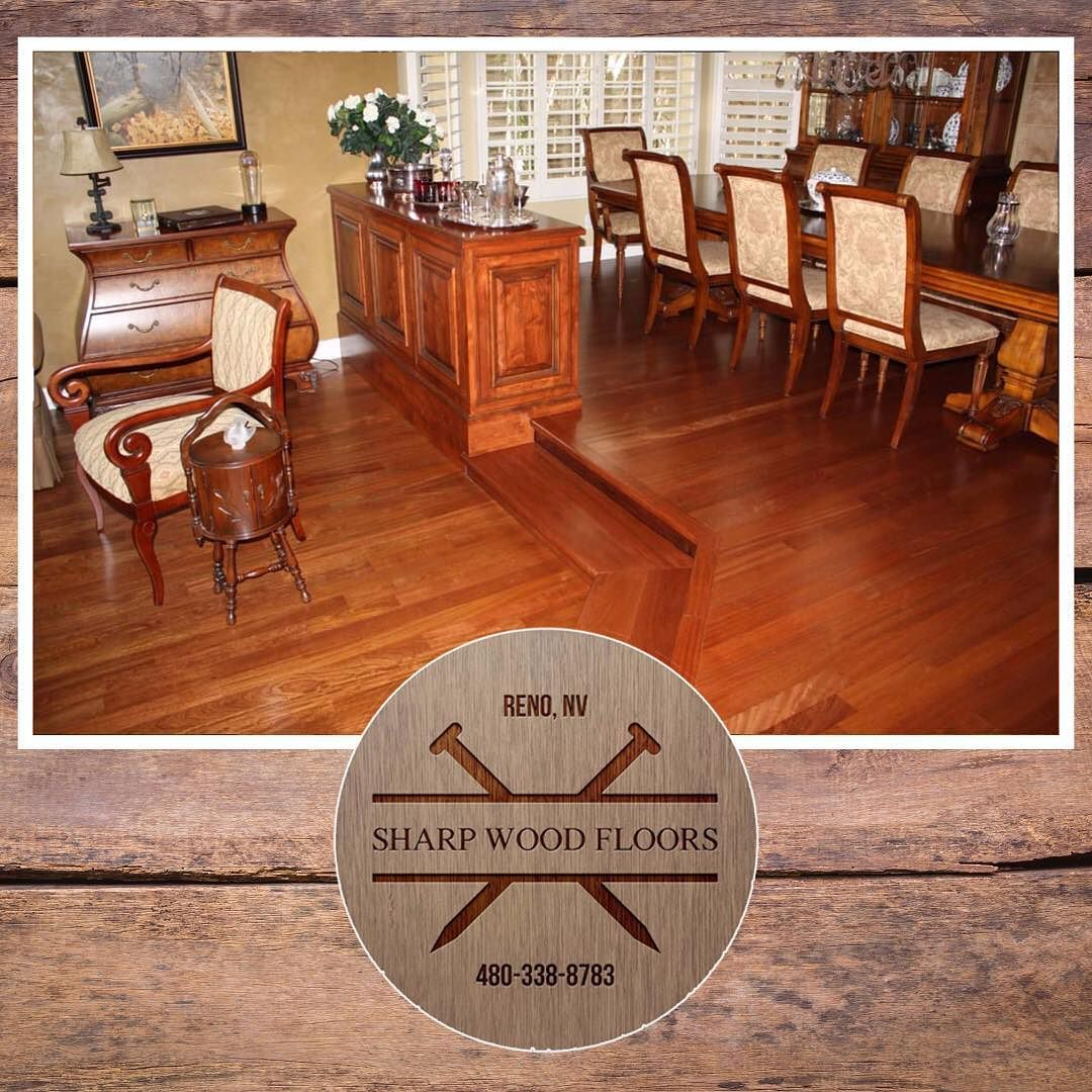 Sharp Wood Floors specializes in reclaimed and wood