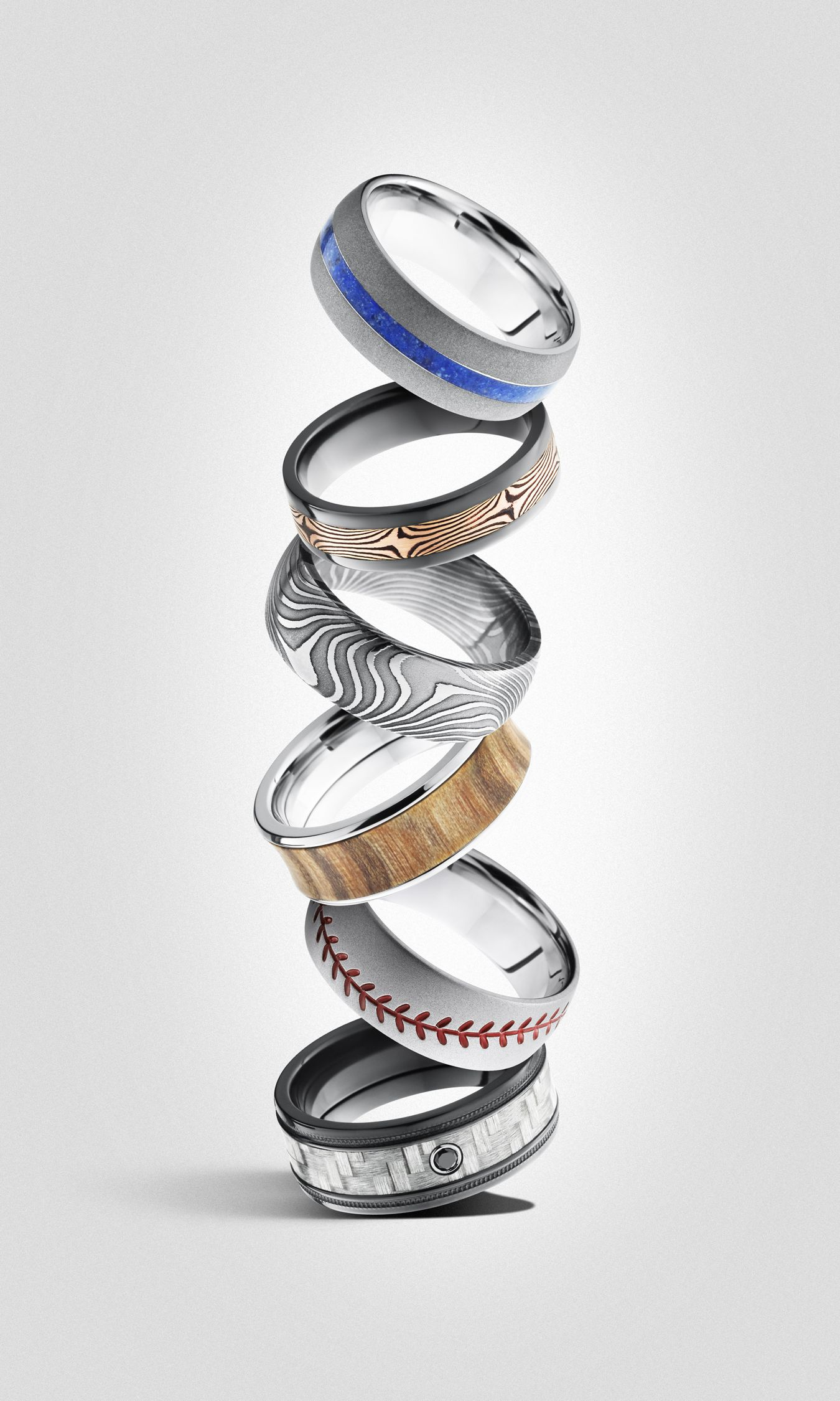 Wedding bands by Lashbrook! Available in alternative