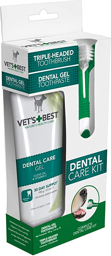 Vet's Best Dog Toothpaste, Teeth Cleaning and Fresh Breath