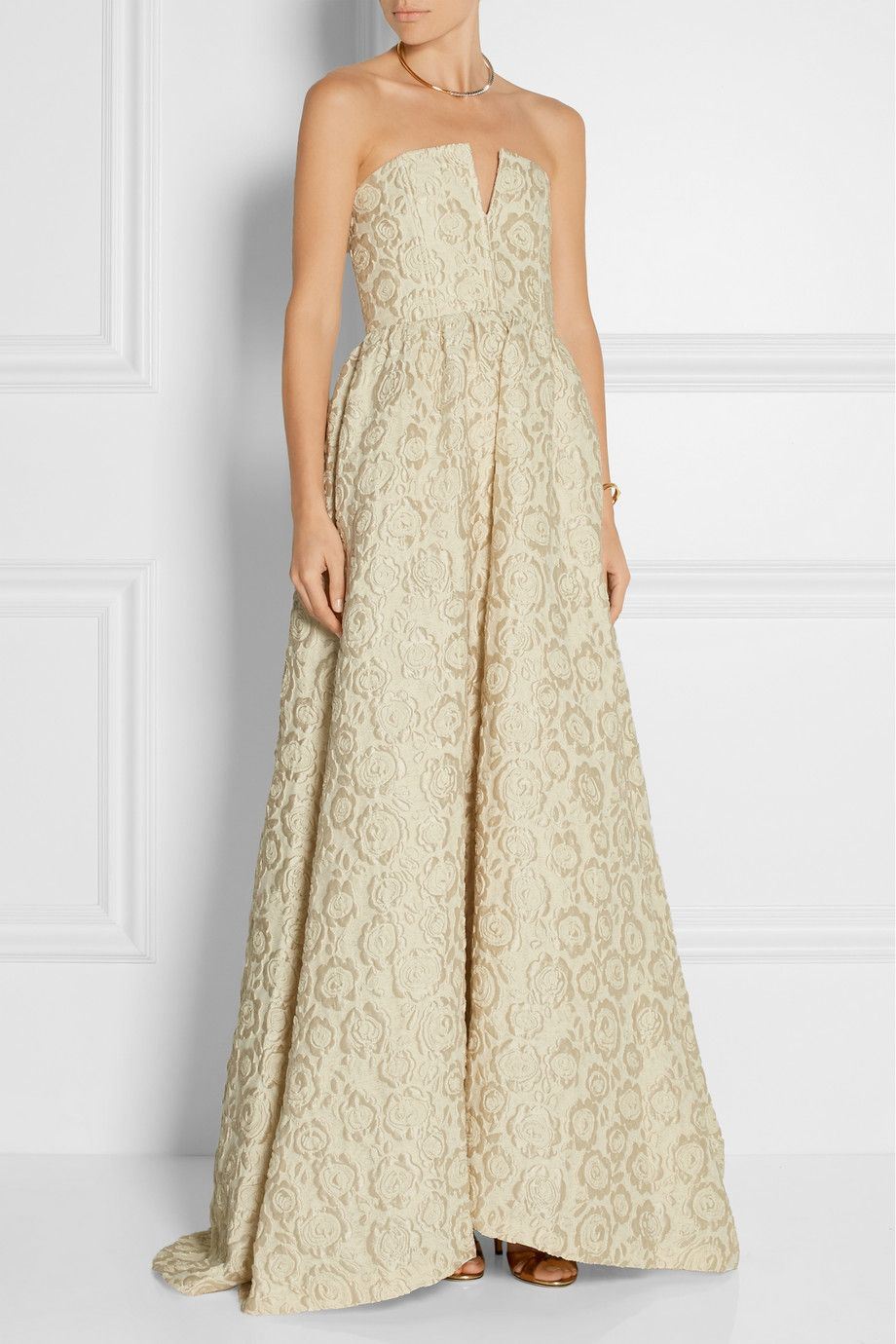 Alice + Olivia | Axmis jacquard gown | NET-A-PORTER.COM | My style ...
