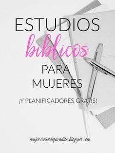 Estudios bíblicos para mujeres -y planificadores gratis-