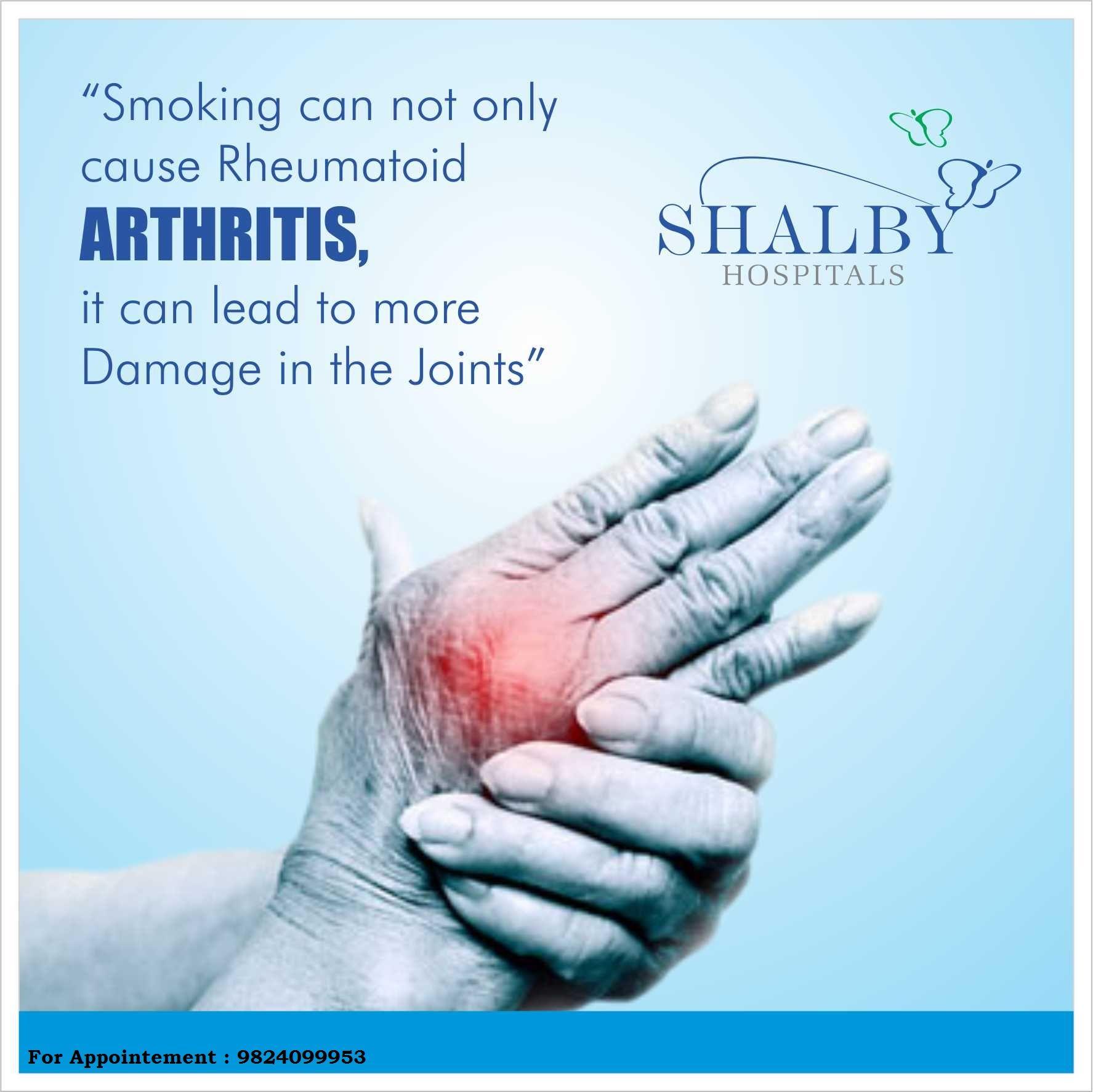 Hi We are Shalby Hospital Arthritis, Arthritis treatment