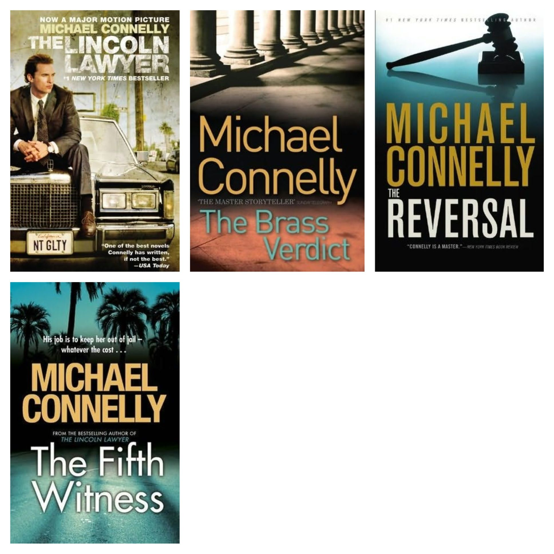 Author michael connelly mickey haller series michael