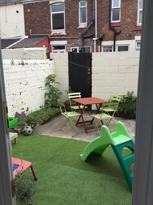 Small courtyard after some TLC on a tiny budget. - http ... on Courtyard Ideas On A Budget id=92300