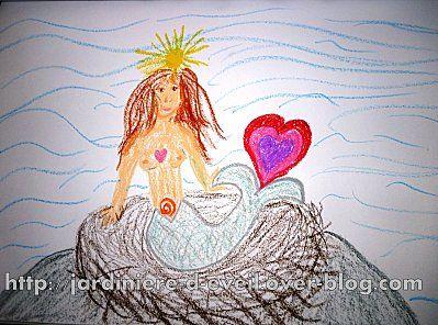 sirène créative et vie de femme-mère