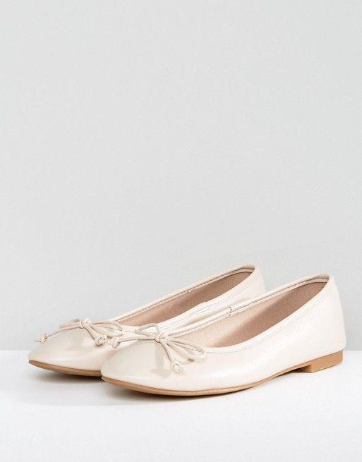 5a8e34eea3e 4THURSDAY ASOS LIBRA Ballet Flats - Nude