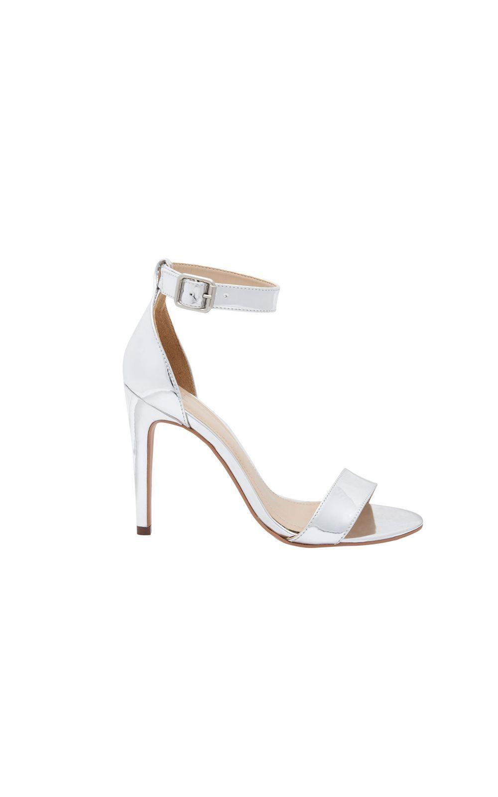 6634b8f5c Sandália festa prata em 2019 | Réveillon | Sandals, Shoes e Fashion