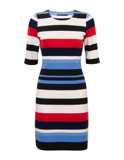 Aansluitende jurk met streepjes   Mijn Steps jurkjes in 2019